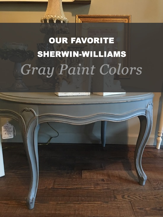 Our Favorite Sherwin Williams Gray Paint Colors Vintage
