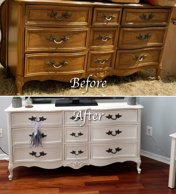 Hand Painted Furniture Store in Michigan Explains the Benefits of Upcycling